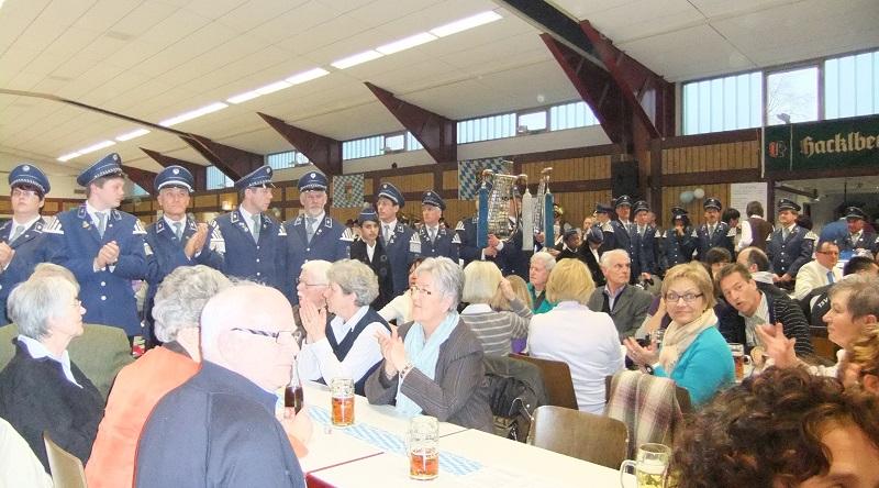 Bilder vom Tambourcorps Bönninghardt Bilder  vom 25 jährigen Bestehen in Asbach-Bäumenheim